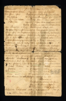 Odpis poświadczenia obywatela byłego imperium rosyjskiego Jana Sokołowskiego.