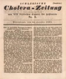 Schlesische Cholera-Zeitung, 1931, No. 5
