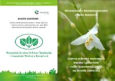 Wzmocnienie bioróżnorodności miasta Jaworzno. Czynna ochrona wybranych muraw i gatunków roślin kserotermicznych na terenie Jaworzna