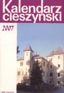 Kalendarz Cieszyński, 2007