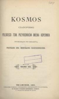 Kosmos, 1905, R. 30