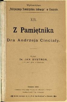 Z Pamiętnika Dra Andrzeja Cinciały