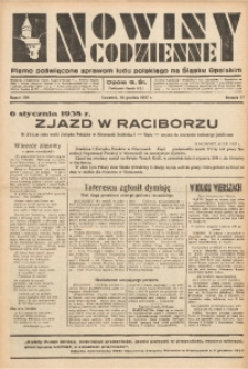 Nowiny Codzienne, 1937, R. 27, nr 298