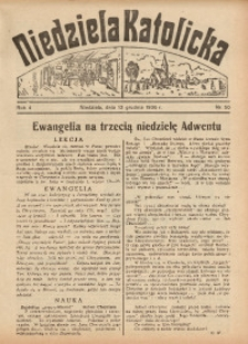 Niedziela Katolicka, 1936, R. 4 [właśc. 5], nr 50