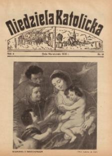 Niedziela Katolicka, 1936, R. 4 [właśc. 5], nr 52