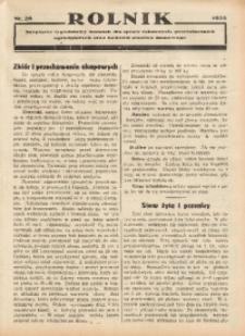 Rolnik, 1935, [R. 33], nr 28