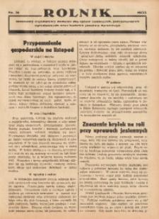 Rolnik, 1935, [R. 33], nr 31