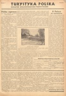 Turystyka Polska, 1936, R. 2, nr 1
