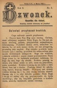 Dzwonek, 1902, R. 9, nr 3
