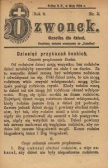 Dzwonek, 1902, R. 9, nr 5