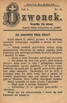 Dzwonek, 1902, R. 9, nr 10