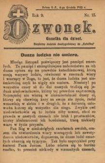 Dzwonek, 1902, R. 9, nr 15
