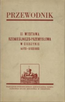 II Wystawa Rzemieślniczo-Przemysłowa w Cieszynie 14 VII - 11 VIII 1935