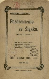 Pozdrowienie ze Śląska : (wiersze i piosenki)