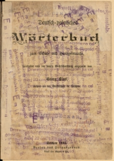Deutsch-polnisches Wörterbuch zum Schul- und Handgebrauche