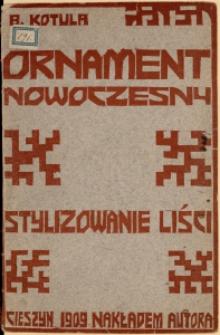 Ornament nowoczesny, Z. 1
