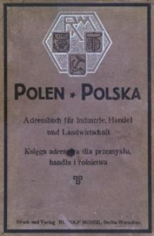 Polen. Adressbuch für Industrie, Handel und Landwirtschaft. - 2 Aufl.