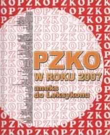 PZKO w roku 2007