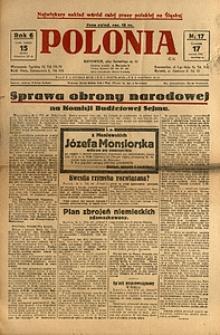 Polonia, 1929, R. 6, nr 17