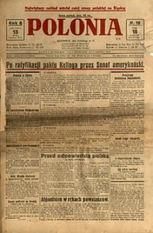 Polonia, 1929, R. 6, nr 18