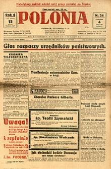 Polonia, 1929, R. 6, nr 34