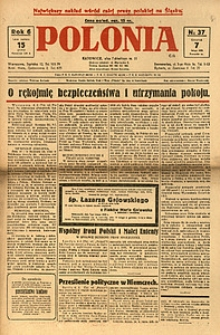 Polonia, 1929, R. 6, nr 37