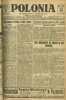 Polonia, 1925, R. 2, nr 29