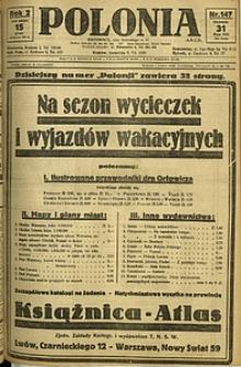 Polonia, 1925, R. 2, nr 147