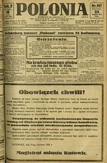Polonia, 1925, R. 2, nr 167