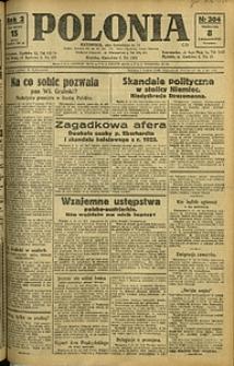 Polonia, 1925, R. 2, nr 304