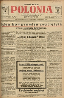 Polonia, 1926, R. 3, nr 90