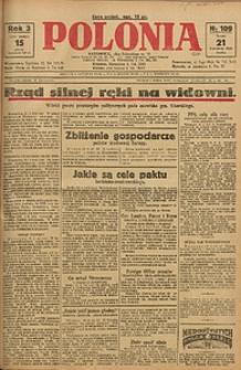 Polonia, 1926, R. 3, nr 109