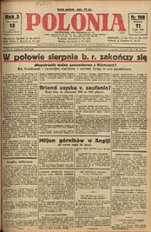 Polonia, 1926, R. 3, nr 188
