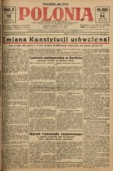 Polonia, 1926, R. 3, nr 201