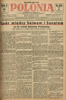 Polonia, 1926, R. 3, nr 212