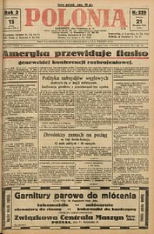 Polonia, 1926, R. 3, nr 229