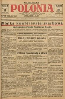 Polonia, 1926, R. 3, nr 230