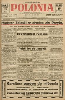Polonia, 1926, R. 3, nr 235
