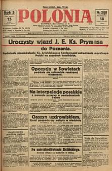 Polonia, 1926, R. 3, nr 288