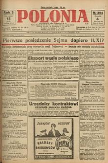 Polonia, 1926, R. 3, nr 304