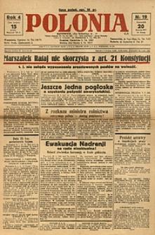 Polonia, 1927, R. 4, nr 19