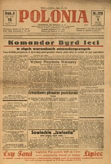 Polonia, 1927, R. 4, nr 178