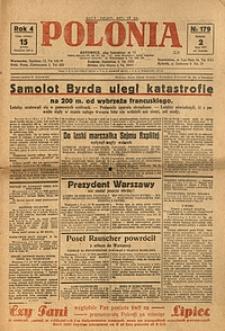 Polonia, 1927, R. 4, nr 179