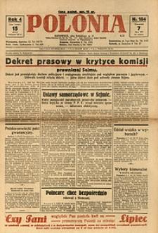 Polonia, 1927, R. 4, nr 184