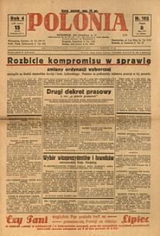 Polonia, 1927, R. 4, nr 185