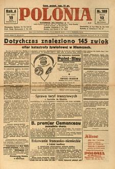 Polonia, 1927, R. 4, nr 189