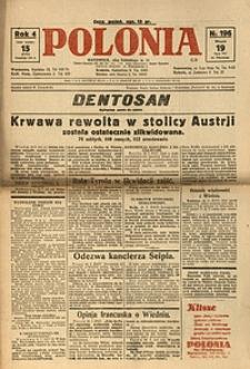 Polonia, 1927, R. 4, nr 196