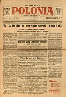Polonia, 1927, R. 4, nr 197
