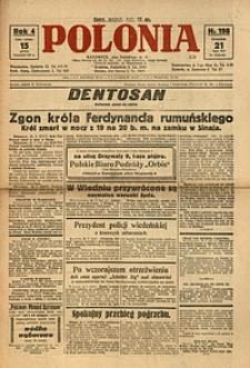 Polonia, 1927, R. 4, nr 198