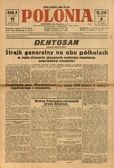 Polonia, 1927, R. 4, nr 216